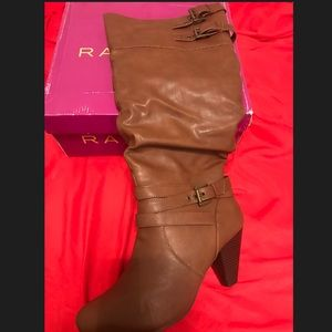 Rampage Cognac Tall Boots